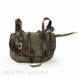 Ловна чанта естествена кoжа